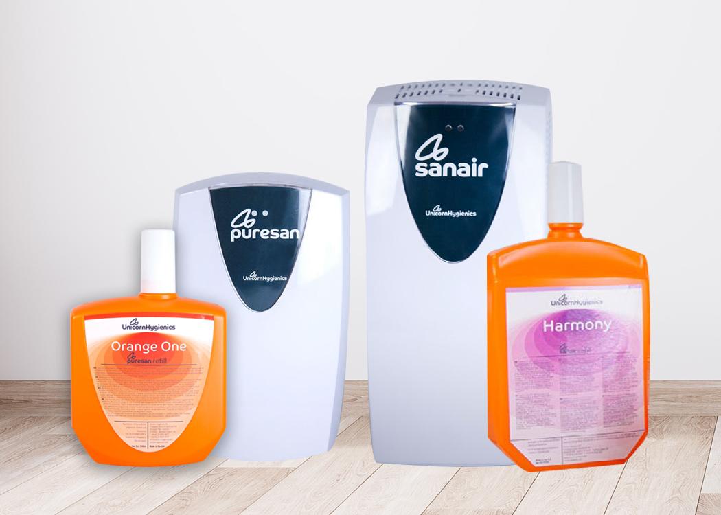 Cleaners & Deodorisers - Unicorn Hygenics